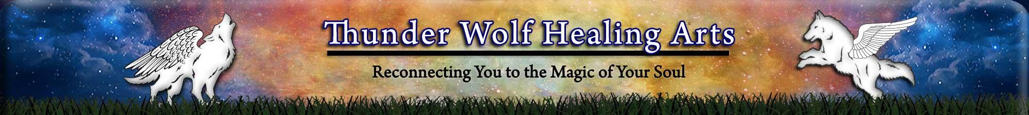 Thunder Wolf Healing Arts Header